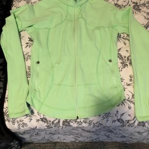 Lululemon Neon green sweater.. size 4